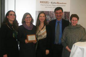 """Die Preisträger des """"Riegel""""-Kulturpreises Dr. Almut Dohrmann, Dr. Katrin Schöne und Almut Siegel"""