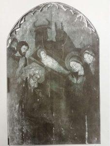 Sienesischer Meister der zweiten Hälfte des 14. Jh.: Anbetung der Hirten, Holz ,183 x 117 cm