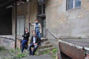 Das Projektteam: Tanja Bernsau, Martin Käferstein, Friederike Dinse (Foto: M. Käferstein)