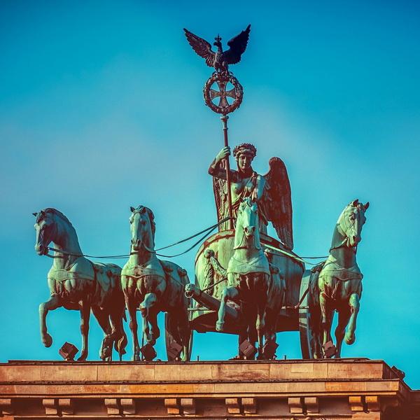 Quadriga am Brandenburger Tor